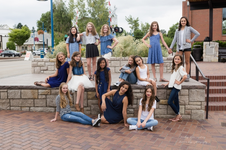 fired-up dance academy, 2017-2018 dance co teams, tigard oregon dance studio